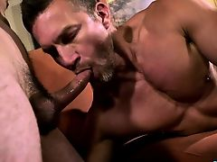 Big dong homo dap with cumshot